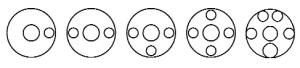 posities slijpstukken flensdeksel