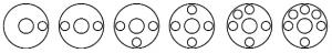 posities slijpstukken flensdeksel DN 150