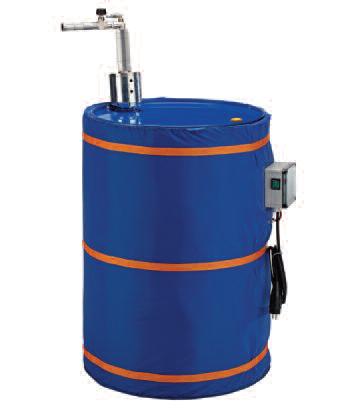 AFR 64 pp vat gemonteerde pneumatisch roerwerk