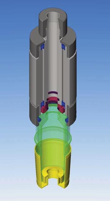 Mechanische dichting, glijringdichting voor labo reactoren