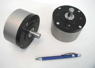 Compacte perslucht roermotor