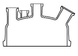 Reactordeksel DN 300 met flens Schott Tech