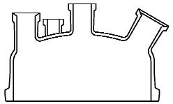Reactordeksel DN 400 met flens Schott Tech