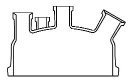 Reactordeksel DN 450 met flens Schott Tech