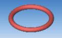 silicone FEP O-ring